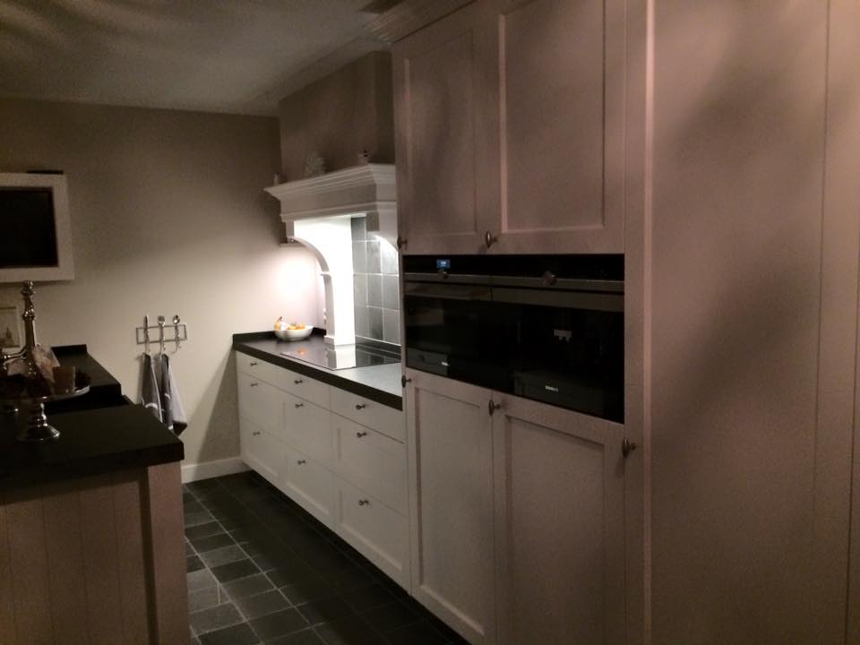 Keuken in barrok stijl