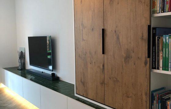 TV meubel in samenwerking met Jolanda Vogels